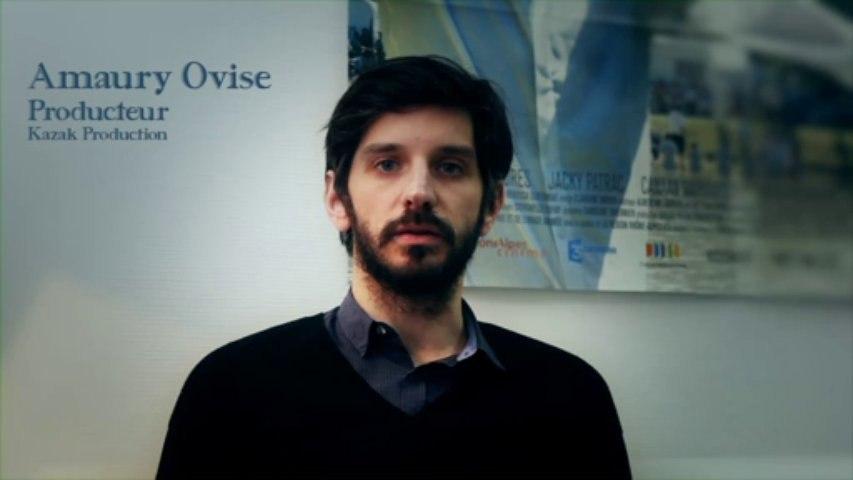 Festival International du film d'Aubagne : Amaury Ovise, producteur