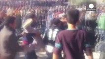 Manifestantes tunecinos incendian dos sedes del partido islamista Al Nahda