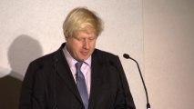 Boris Johnson pays tribute to Margaret Thatcher