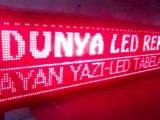 KAYAN YAZI DÜNYA LED REKLAM  KONYA 05074848407 AFYON LED TABELA