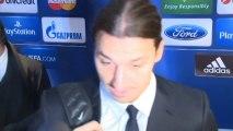 """Groupe C - Ibrahimovic : """"Une première mi-temps fantastique"""""""