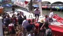 Jour 22 - Arrivée Initiatives Coeur (IMOCA) - Transat Jacques Vabre 2013