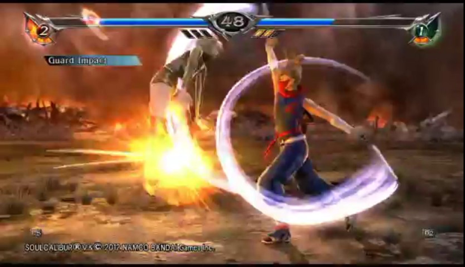 Soul Calibur V | Ranked Online Match - Helena Versus Natsu