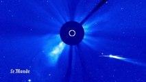 Le parcours de la comète ISON au travers du système solaire
