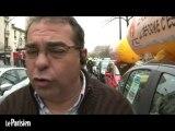 Opération escargot des auto-écoles sur le périphérique à Paris