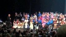 Mode H 2013 .Spectacle chorégraphique. (4ème partie sur 4) à Tours au Vinci le 19 Novembre 2013.Thème de la chanson Française