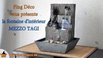 Fontaine d'intérieur Bouddha MEZZO TAGI (dispo sur WWW.PING-DECO.FR)