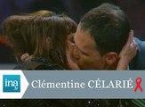 Clémentine Célarié embrasse un séropositif au Sidaction 1994 - Archive INA