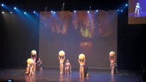Mode h 2013  .Spectacle chorégraphique.  (3ème partie sur 4) à Tours au Vinci le 19 Novembre 2013.Thème de la chanson Française
