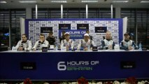 Qualifying Press Conference for the 6 Hours of Bahrain