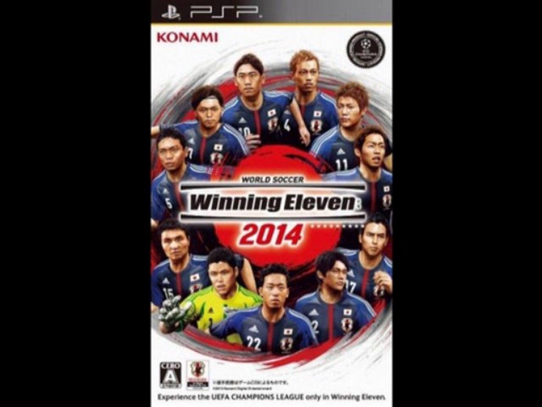 {PSP} World Soccer Winning Eleven 2014 = PSP ISO Download {JPN}