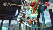 Saint Seiya Brave Soldiers - Seiya God Cloth vs Poseidon