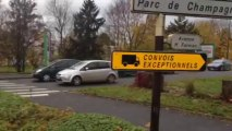 Barrages routiers : les routiers sont en place à Reims