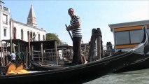 Gondola Serenade, Venice.  Most Unique and Visited Tourist Highlight of Italy - Europe Holidays
