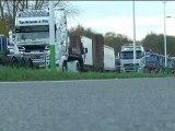 Ecotaxe: la démonstration de force des routiers - 30/11
