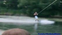 The Water Ski Wipeout