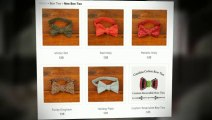 Custom Bow Ties For Weddings