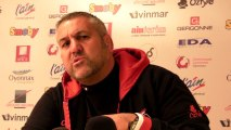 Rugby Top 14 - Christophe Urios après Oyonnax - Brive, 3e partie