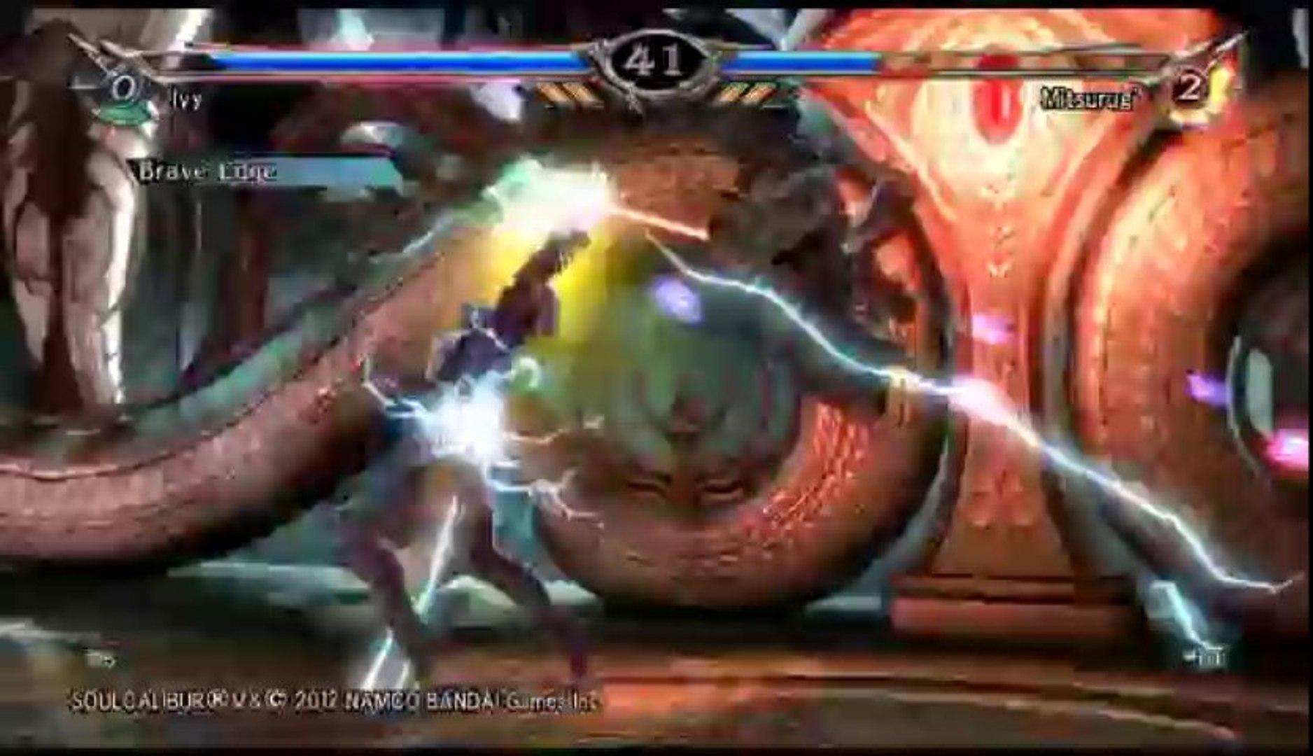 Soul Calibur V | Ranked Online Match - Ivy Versus Mitsurugi