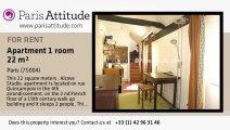 Alcove Studio Apartment for rent - Centre George Pompidou, Paris - Ref. 4606
