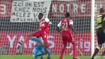 But Ronny RODELIN (46ème) - Valenciennes FC - LOSC Lille - (0-1) - 30/11/13 (VAFC - LOSC)
