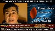 Cleveland Browns vs. Jacksonville Jaguars Pick Prediction NFL Odds 12-1-2013