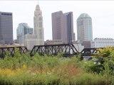 Columbus Ohio Skyline along the Riverfront (2013)