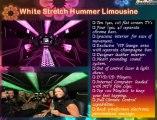 Acquire 22 Seat White Stretch Hummer Limousine Hire in Melbourne