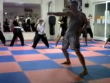 Bridlington Martial Arts Centre Kickboxing Franklyn Hicken Teaching