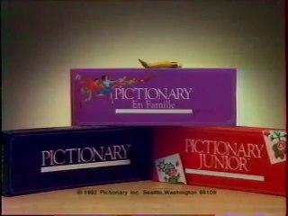 Publicité Pictionary HASBRO 1993