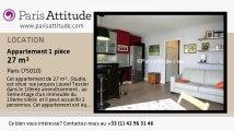 Appartement Studio à louer - Canal St Martin, Paris - Ref. 7622