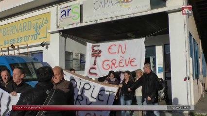 Hôpital de Bonifacio: le STC quitte les locaux de l'ARS mais le combat continue