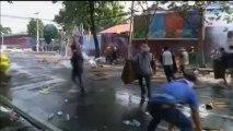 Thaïlande : scènes de guérilla urbaine à Bangkok