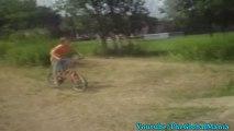 Boy Fails Small Jump On A Bmx!