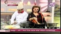 Zauq Zindagi with Sara Riaz and Dr. Khurram Musheer, Thai Soup , Sweet 'n' sour Pamphret Fish & Garlic Rice, 3-12-13