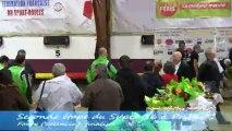 Remise des récompenses, seconde étape Super 16, Sport-Boules, Privas 2013