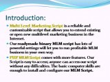 PHP MLM Script, MLM Script, Readymade Binary MLM Script, Matrix Plan MLM Script
