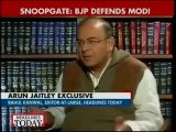 Silence doesn't mean we are sweeping Snoopgate under carpet: Arun Jaitley