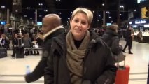 Talents France Bleu 2013 - Arrivée d' Aurore à Paris - Gare de Lyon