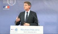 [ARCHIVE] PISA 2012 : conférence de presse de Vincent Peillon