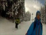 Première sortie de la saison en ski de randonnée aux Contamines