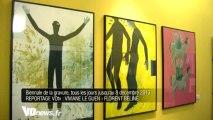 La Biennale de gravures de Sarcelles
