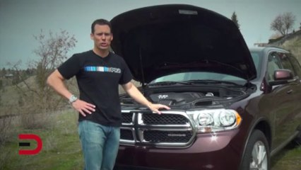 2012 Dodge Durango AWD Crew Car Review on Everyman Driver with Dave Erickson