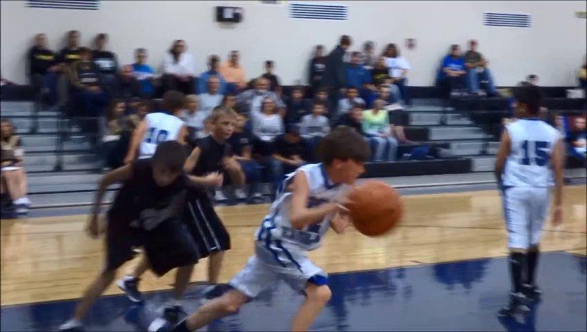 Steven Basketball Highlights 2013