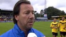 22-07-2011 Jean Paul van Gastel na SC Veendam - Feyenoord