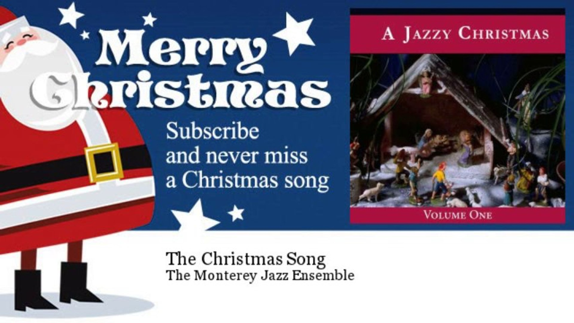 The Monterey Jazz Ensemble - The Christmas Song
