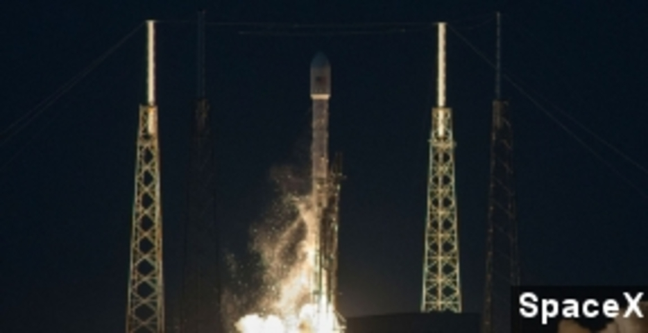 SpaceX Successfully Launches Communications Satellite