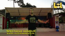 Spectacle d'humour Camping