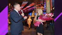 Britney Spears Shuts The Strip Down Arriving At Las Vegas!