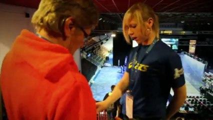 Teaser officiel - Championnat Europe Squash - Valenciennes 2014